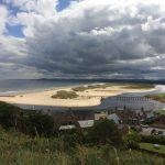 East Beach Lossiemouth with cloudscape