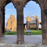 Entrance to Elgin Cathedral
